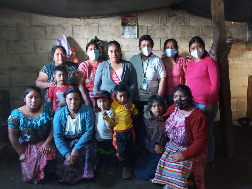 En el marco de la Gran Cruzada Nacional Por la Nutrición se reactivan las COCOSANES de las comunidades priorizadas por la COMUSAN del Municipio de Totonicapán