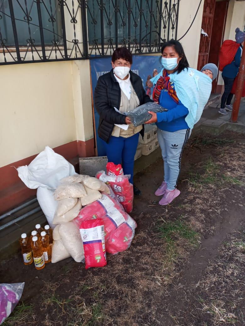 Ayuda alimentaria para reducir la desnutrición  en niños y niñas del Municipio de Totonicapán